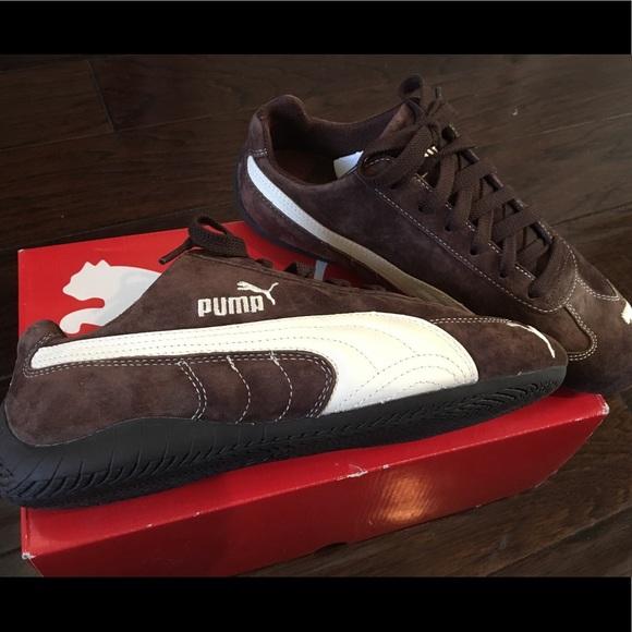5ed357b537cc Brown Speed Cat Puma shoes (size 9)